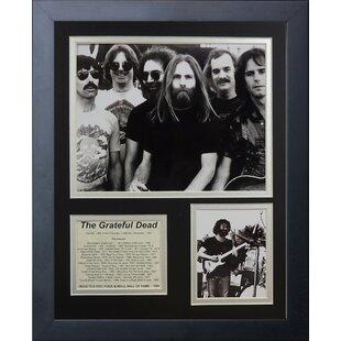 Grateful Dead Framed Memorabilia