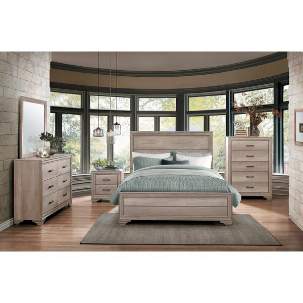 Millwood Pines Emberton 4 Piece Configurable Bedroom Set Reviews Wayfair