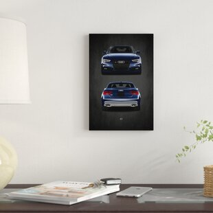 'Audi S5' Graphic Art Print on Canvas ByEast Urban Home
