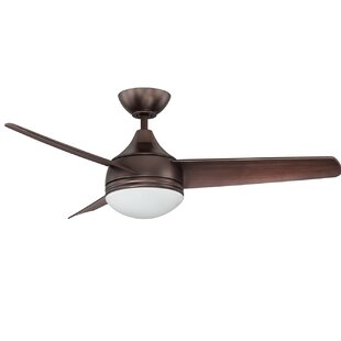 Online Reviews 42 Hirschman 3 Blade Ceiling Fan By Orren Ellis