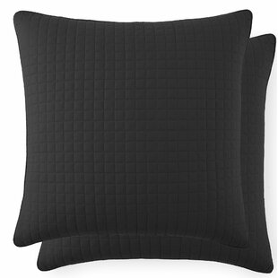 Adair Quilted Throw Pillow Cover (Set of 2)