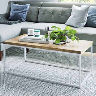 Gold White Coffee Tables Youll Love Wayfair