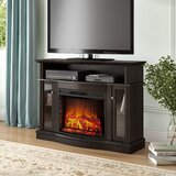 Welliver TV Stand for TVs up to 50 with Fireplace Included by Red Barrel Studio®