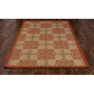 Beaminster Tan Indoor/Outdoor Area Rug