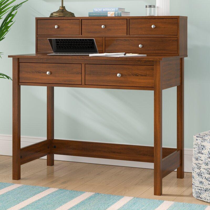 Exceptionnel Beachcrest Home Strickland Secretary Desk With Hutch U0026 Reviews | Wayfair