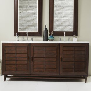 Musson 72 Double Bathroom Vanity Set by Beachcrest Home