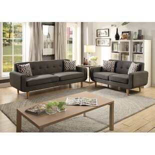 Price comparison Donte Dorris Fabric 2 Piece Living Room Set by Langley Street Reviews (2019) & Buyer's Guide
