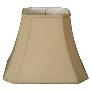 12 Linen Square Cut Corner Bell Lamp Shade