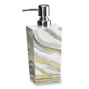 Shell Rummel Stone Lotion Dispenser. By Popular Bath