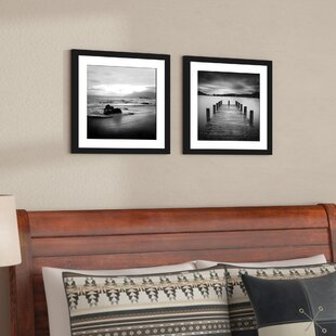 U0027Jettyu0027 2 Piece Framed Photographic Print Set