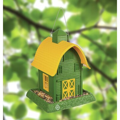 North States Barn Hopper Bird Feeder (Set of 4)