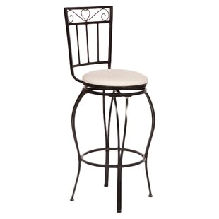 Davidson 30 Swivel Bar Stool (Set of 2) by Fleur De Lis Living