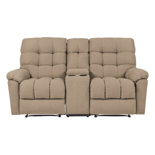 Maurine Tufted Reclining Loveseat
