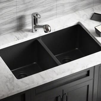 Blanco Precis 30 L X 18 W Double Basin Undermount Kitchen Sink Reviews Wayfair