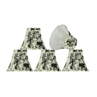 6'' Fabric Bell Clip on Lamp Shade (Set of 5)