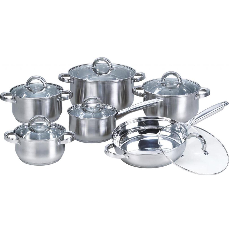 Heim Concept 4 Piece Stainless Steel Non Stick Cookware Set