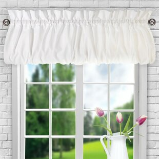 Farmhouse Rustic Valances Kitchen Curtains Birch Lane