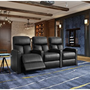 Home Theater Recliner (Row of 3) by Latitude..