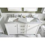 Malbon 60 Double Bathroom Vanity Set by Breakwater Bay