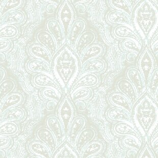 Review Dignity 32.97 x 20.8 Damask Wallpaper by Walls Republic