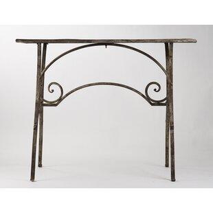 Riccio End Table by Fleur De Lis Living