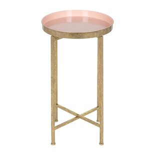 Small Round Metal Accent Table Wayfair
