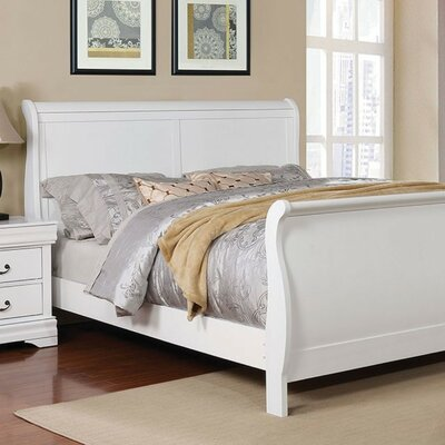 Auguste Sleigh Bed Canora Grey