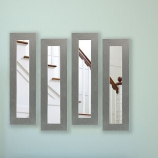 August Grove Foosland Panel Accent Mirror (Set of 4)