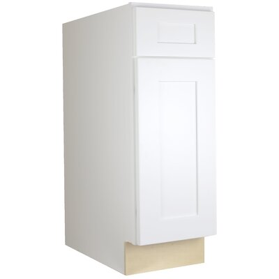 "Shaker 34.5"" x 12"" Base Cabinet Cabinet Mania"