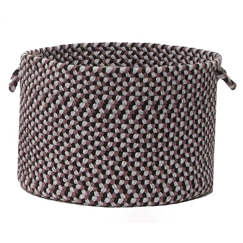 """Alcott Hill Lettie Utility Basket  Size: 18"""" x 12"""", Color: Purple Haze"""