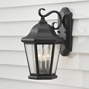 Hereford 3-Light Outdoor Wall Lantern By Darby Home Co