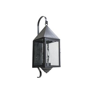 Price Check 1-Light Outdoor Wall Lantern By Brass Traditions