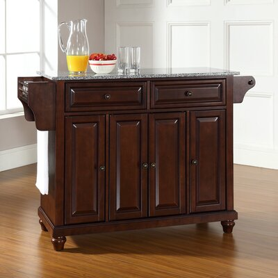 Cambridge Kitchen Island With Granite Top Crosley Base