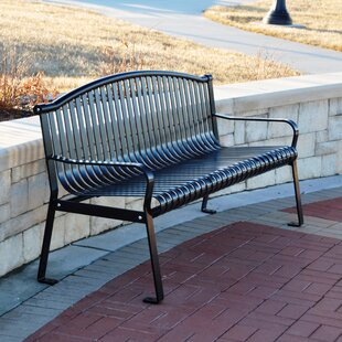 Rockford Steel Park Bench