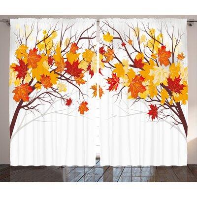 Fall Curtains Wayfair