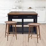 Jaxon Kitchen Island by Laurel Foundry Modern Farmhouse
