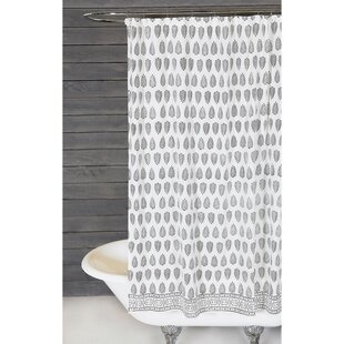 Kiara Cotton Single Shower Curtain
