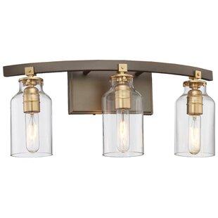 Read Reviews Alysa 3-Light Vanity Light By Williston Forge