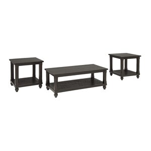 Linden 3 Piece Coffee Table Set