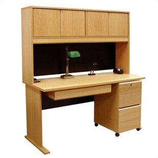Modular Computer Desk with Hutch