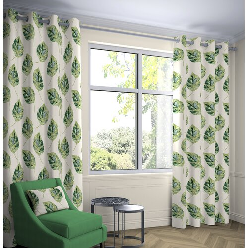 Bolen Room Darkening Eyelet Thermal Curtains Ebern Designs C