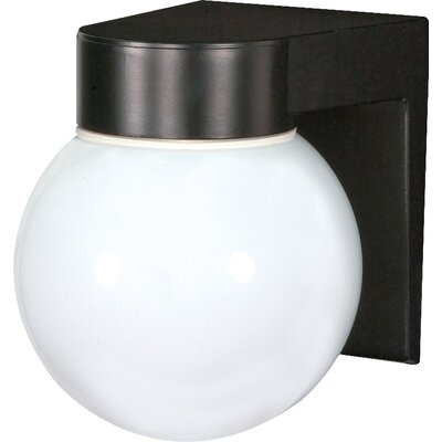 Zipcode Design Westford 1-Light Outdoor Sconce Finish: Black