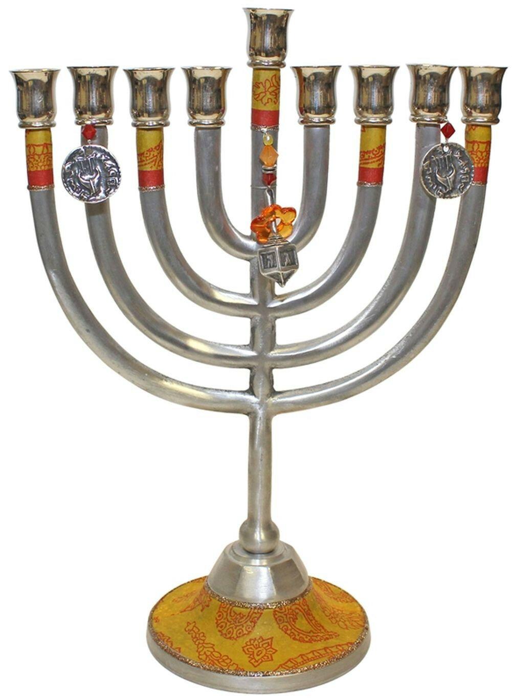Ben And Jonah Metal Classic Design Lamp Lighters Ultimate Judaica Menorah Wayfair
