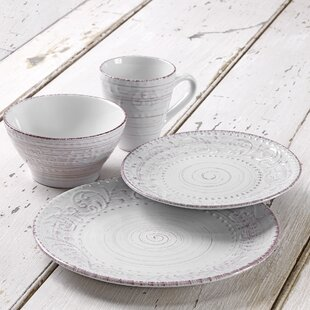 Juli 16 Piece Dinnerware Set, Service for 4