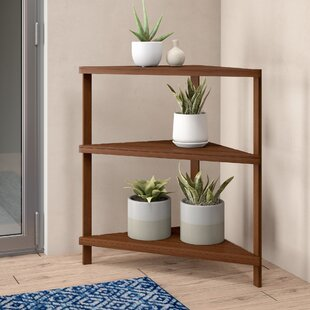 Arianna Corner Bookcase by Langley Street Cheap
