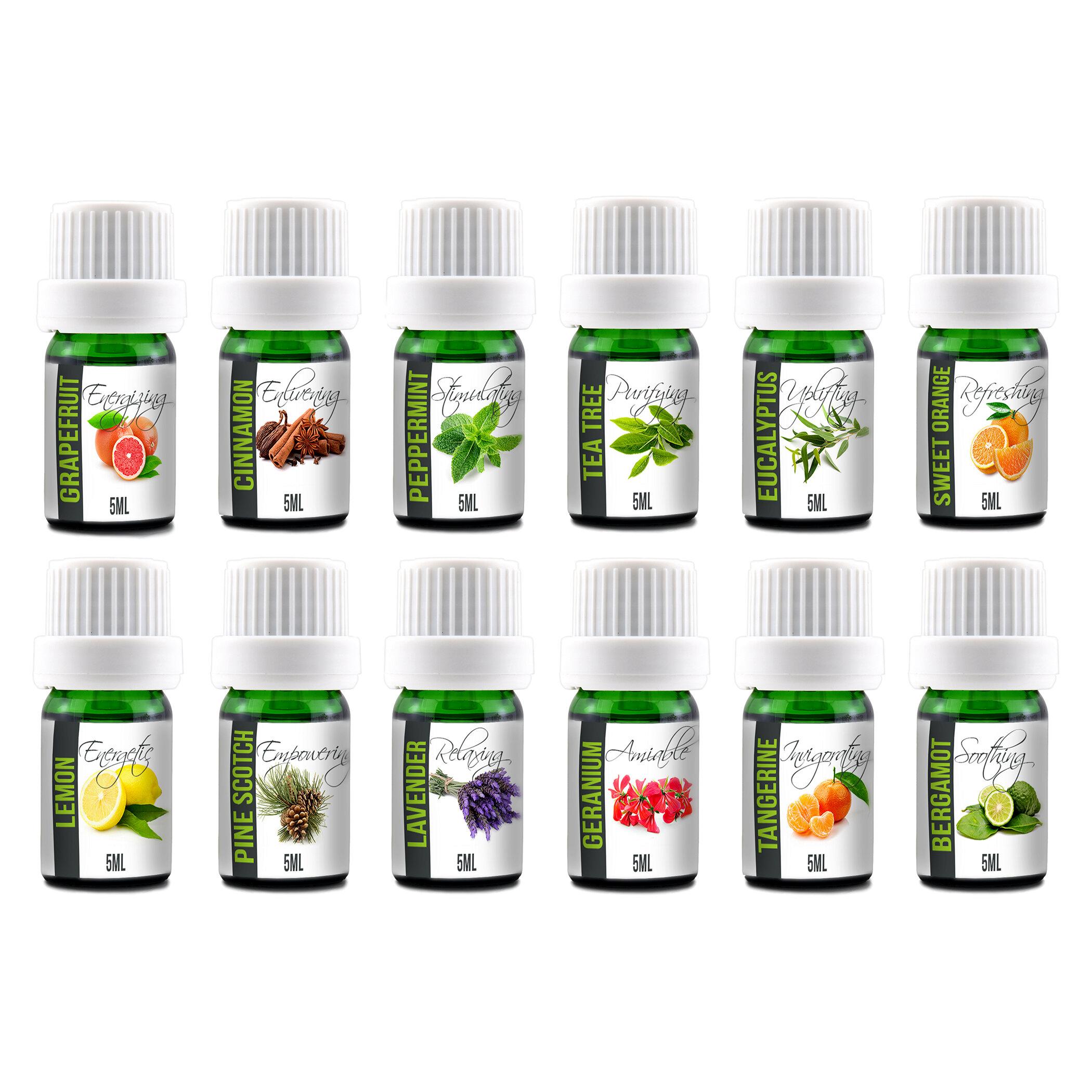 Aroma2go 12 Piece Aromatherapy Essential Oil Set Reviews Wayfair