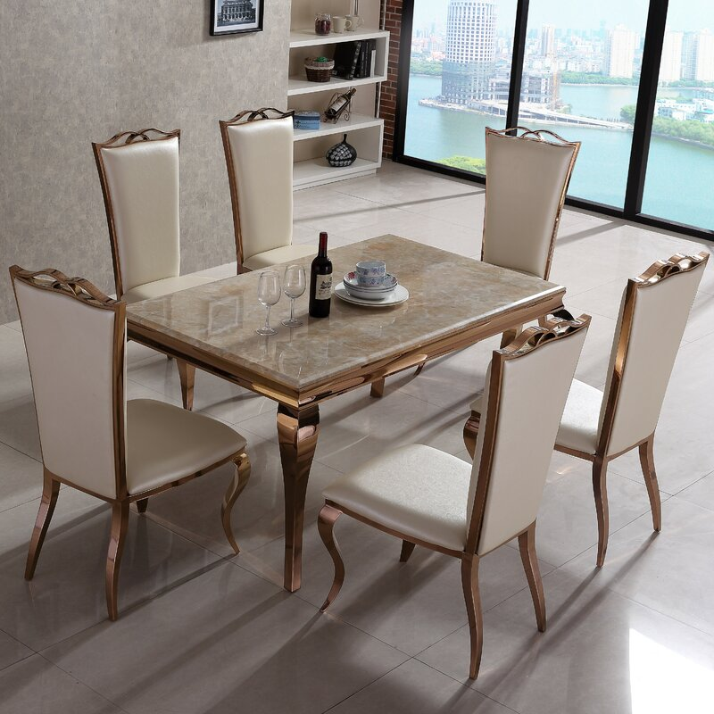Julia Dining Table And 6 Chairs