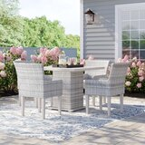 Waterbury 5 Piece Dining Set with Cushions