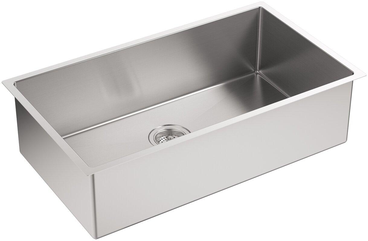 Single Bowl Undermount Kitchen Sink