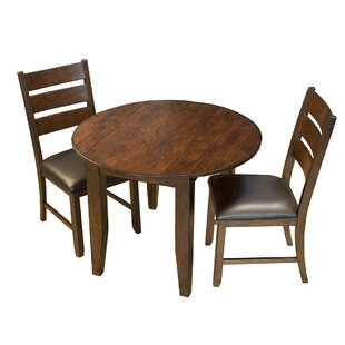 Caracara 3 Piece Drop Leaf Dining Set
